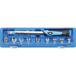 "Torque Wrench Set  6.3 mm (1/4"")  10 - 50 Nm  10 pcs."