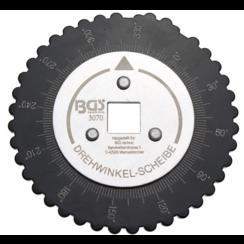 """Draaihoekmeter voor hoekverdraaiing  12,5 mm (1/2"""")"""