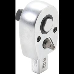 "Insteekratelsleutel  10 mm (3/8"")  opname 9 x 12 mm"