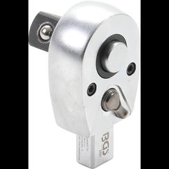 "Insteekratelsleutel  12,5 mm (1/2"")  opname 9 x 12 mm"