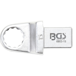 Push Fit Ring Spanner  15 mm  Square Size 14 x 18 mm