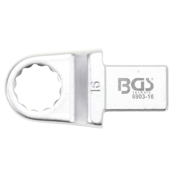 Push Fit Ring Spanner  16 mm  Square Size 14 x 18 mm