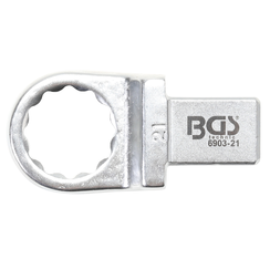 Push Fit Ring Spanner  21 mm  Square Size 14 x 18 mm