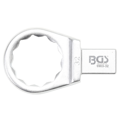 Push Fit Ring Spanner  32 mm  Square Size 14 x 18 mm