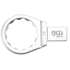 Push Fit Ring Spanner  34 mm  Square Size 14 x 18 mm
