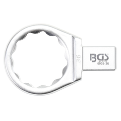 Push Fit Ring Spanner  36 mm  Square Size 14 x 18 mm