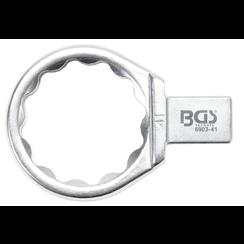 Insteek-ringsleutel  41 mm  opname 14 x 18 mm