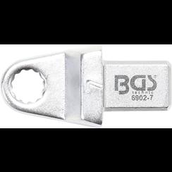 Insteek-ringsleutel  7 mm  opname 9 x 12 mm