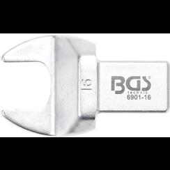 Insteek-steeksleutel  16 mm  opname 14 x 18 mm