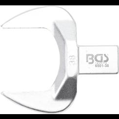 Insteek-steeksleutel  38 mm  opname 14 x 18 mm