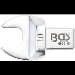 Insteek-steeksleutel  10 mm  opname 9 x 12 mm
