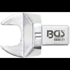 Insteek-steeksleutel  11 mm  opname 9 x 12 mm