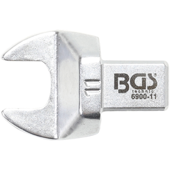 Open-End Push Fit Spanner  11 mm  Square Size 9 x 12 mm