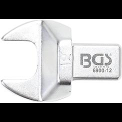 Insteek-steeksleutel  12 mm  opname 9 x 12 mm
