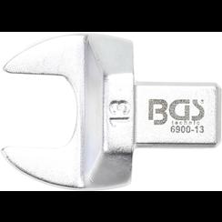 Insteek-steeksleutel  13 mm  opname 9 x 12 mm