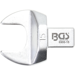 Open-End Push Fit Spanner  15 mm  Square Size 9 x 12 mm