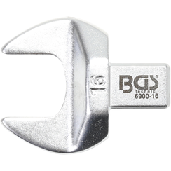 Open-End Push Fit Spanner  16 mm  Square Size 9 x 12 mm
