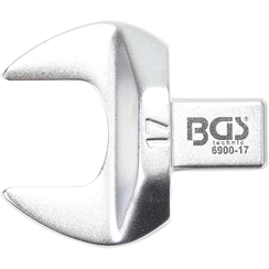 Open-End Push Fit Spanner  17 mm  Square Size 9 x 12 mm