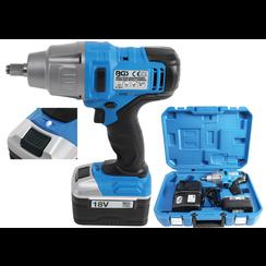 Cordless Impact Wrench  520 Nm  max. 1.600 rpm  18 V