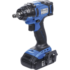 Cordless Impact Wrench  extra short  250 Nm  max. 2.500 rpm  18 V