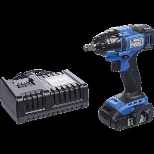 BGS  Technic Accu slagmoersleutel  extra kort  250 Nm  max. 2.500 omw/min  18 V