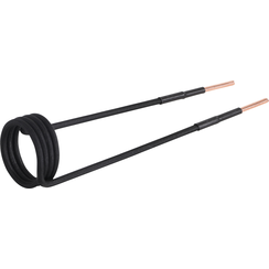 Induction Coil for Induction Heater  38 mm  angled 90°  for BGS 2169
