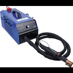 Inductie verhittingsapparaat  uitvoering voor bedrijfswagens  met vloeistofkoeling