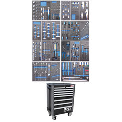Workshop Trolley Pro Exclusive  8 Drawers  with 259 Tools