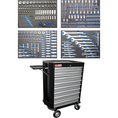 Workshop Trolley  8 Drawers  with 293 Tools