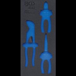 Gereedschapmodule 1/3  leeg  voor BGS 4042
