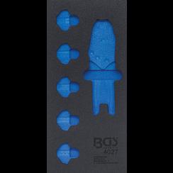 Gereedschapmodule 1/3  leeg  voor BGS 4027