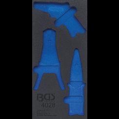 Gereedschapmodule 1/3  leeg  voor BGS 4028