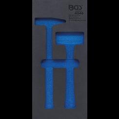 Gereedschapmodule 1/3  leeg  voor BGS 4046