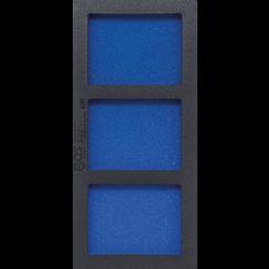 Gereedschapmodule 1/3, leeg: 3 vakken  408 x 189 x 32 mm