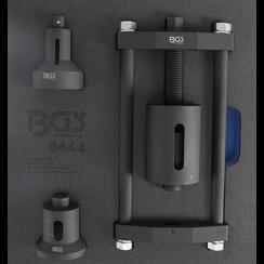 Gereedschapmodule 1/6: Achteras-draagarm silentlager gereedschapset  voor Ford/Mazda/Volvo