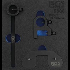 Tool Tray 1/6: Balance Shaft Adjusting Tool Set  for Land Rover, Citroen, Mitsubishi, Peugeot, Ford 2.2 DOHC Diesel Engines