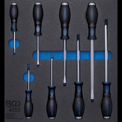 Tool Tray 2/3: Cross and Slot Screwdrivers  8 pcs.