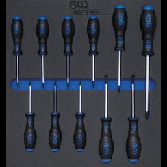 Tool Tray 2/3: Screwdriver Set  T-Star (for Torx) T6 - T40  11 pcs.