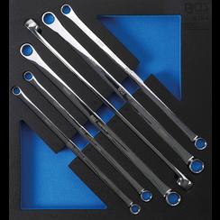 Gereedschapmodule 2/3: ringsleutelset  extra lang  10 x 11 - 22 x 24 mm  6-dlg.