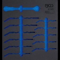 Gereedschapmodule 2/3  leeg  voor BGS 4195