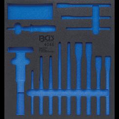 Gereedschapmodule 2/3  leeg  voor BGS 4045