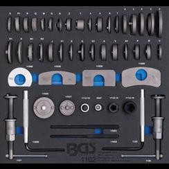 Tool Tray 2/3: Brake Piston Wind Back Set  50 pcs.