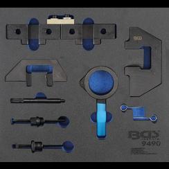 Tool Tray 2/3: Engine Timing Tool Set  for BMW M42, M43, M50, M52, M60, M51