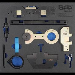 Tool Tray 2/3: Engine Timing Tool Set  for BMW M40, M44, M50, M52, M54, M56