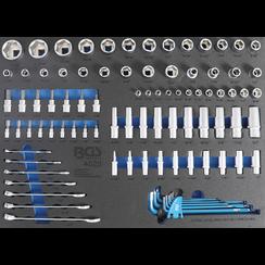 Gereedschapmodule 3/3: dopsleutel/steekringsleutel  inch  90-dlg