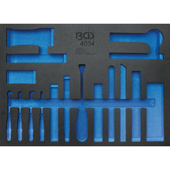 Tool Tray 3/3  empty  for BGS 4034