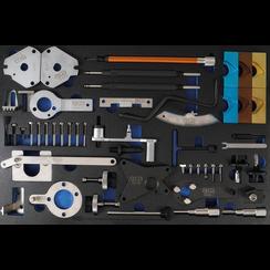 Gereedschapmodule 3/3: motorafstelset  voor Fiat, Alfa, Lancia, Opel, Suzuki, Ford