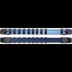 """Opsteekrail voor 12 dopsleutels  magnetisch  voor 10 mm (3/8"""")"""