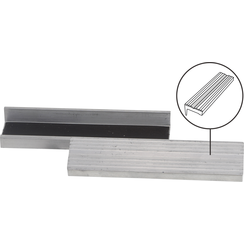 Bench Vice Jaw Protector  Aluminium  125 mm  2 pcs.