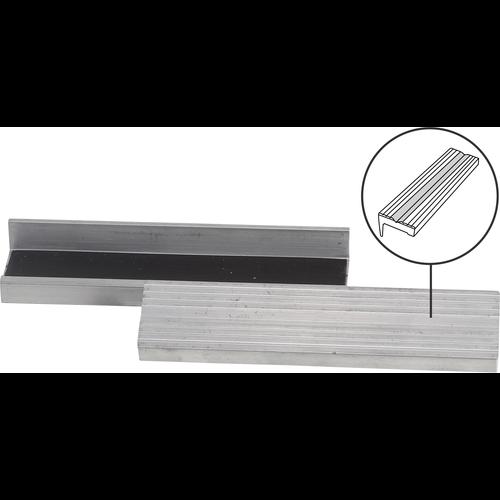 BGS  Technic Bench Vice Jaw Protector  Aluminium  125 mm  2 pcs.